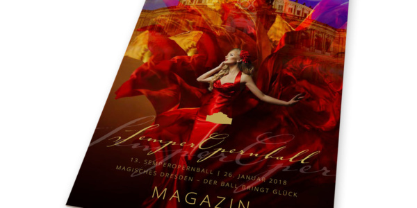 Magazin zum Dresdner SemperOpernball 2018