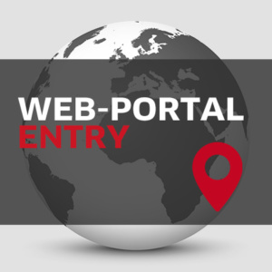 Travel Portal Web Entry